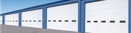 Sectional Insulated Commercial Garage Doors