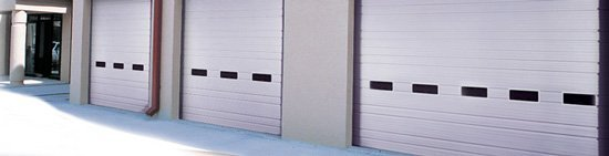 Sectional Non-Insulated Commercial Garage Doors